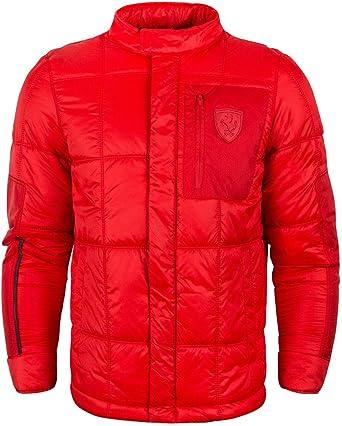 13de9a1cf9d5d Puma Scuderia Ferrari Lightweight Padded Puffer Jacket - Red (X ...