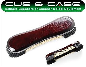CueBall 16 - Cepillo para mesa de billar con cerdas de crin de ...