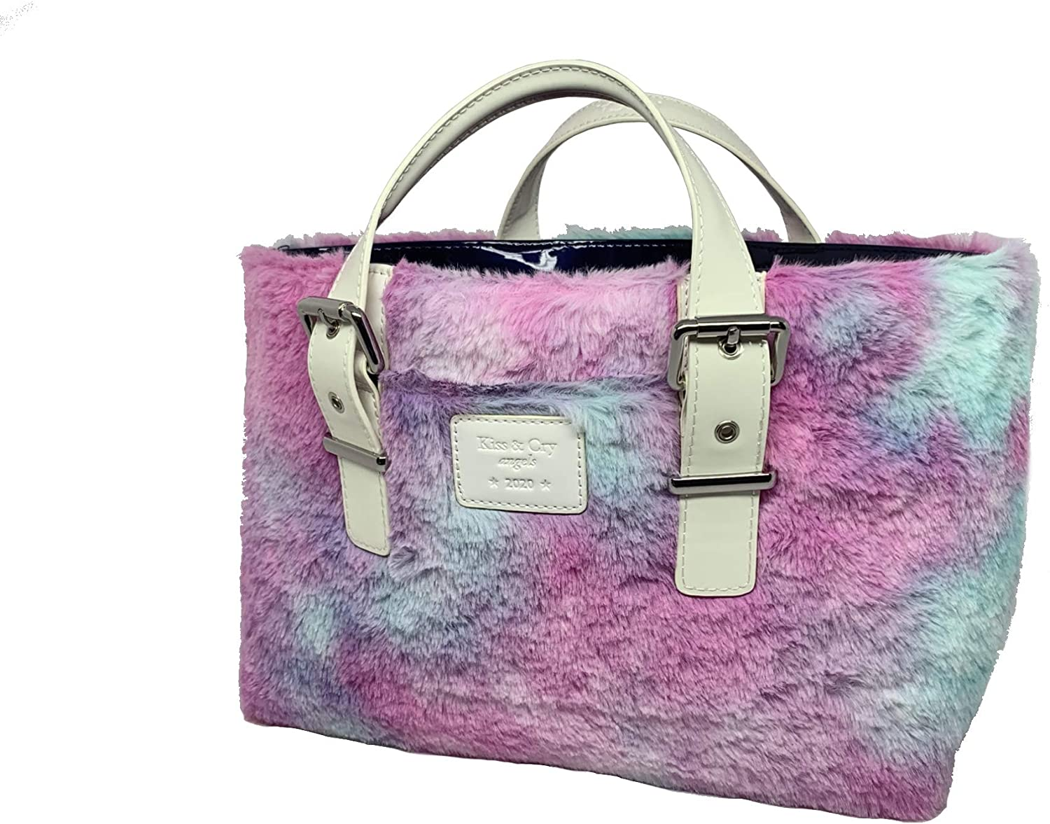 Fluffy Mystic Purple Kiss /& Cry Angels Rink Tote