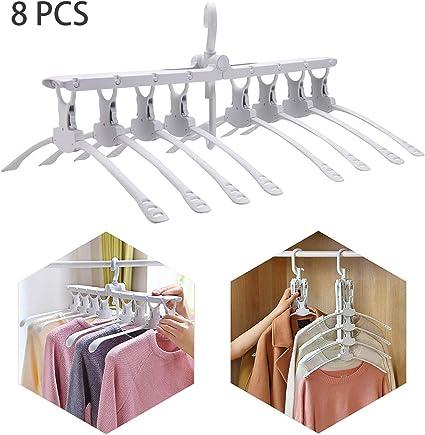 2 5 10 Pcs Travel Cintres Pliables Vêtements Cintre Pliant Escamotable