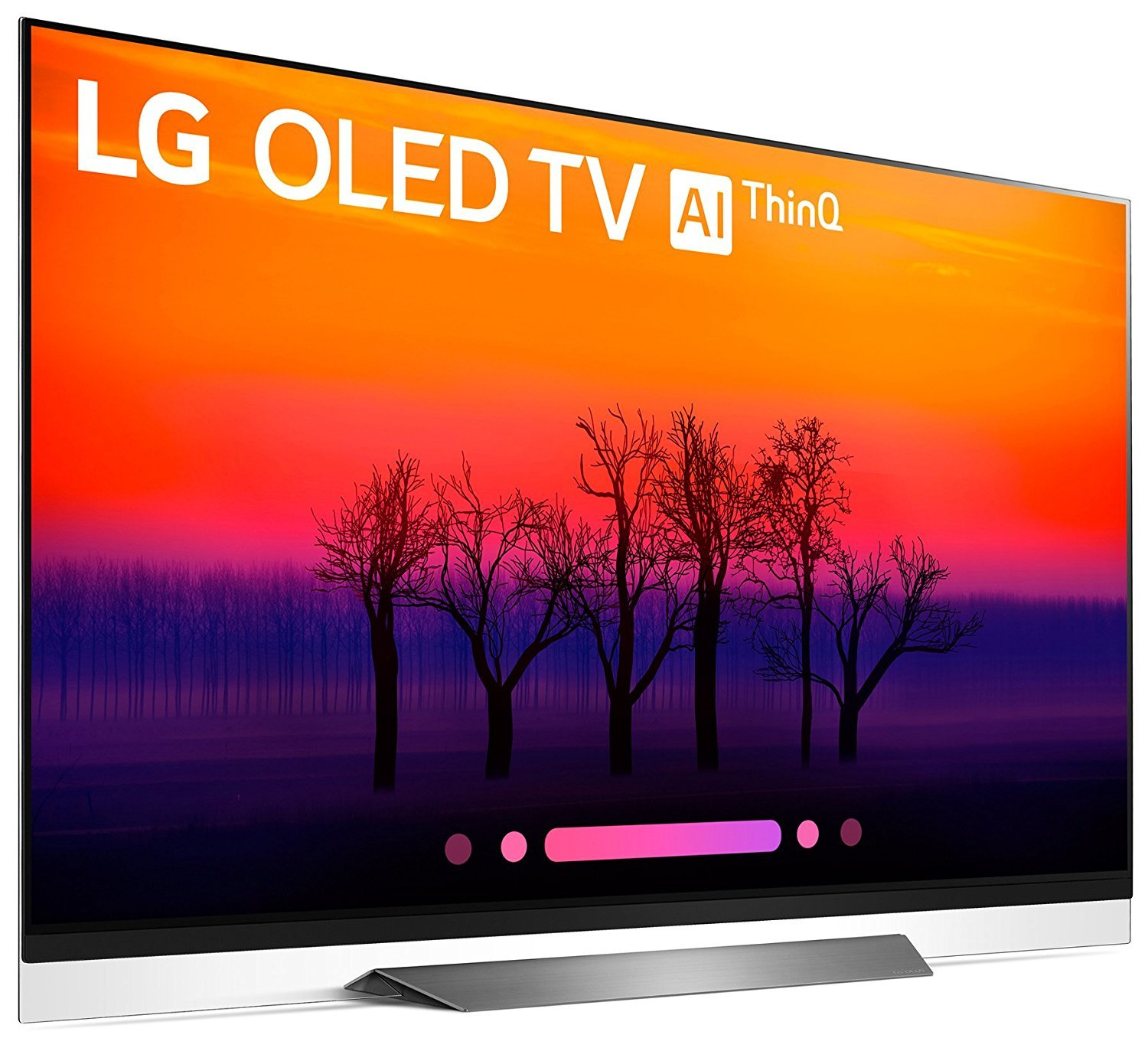 LG OLED55E8 Class E8 OLED 4K HDR AI Smart TV 2018 Model, LG SK8Y 2 1 ch  High Res Audio Sound Bar, Wall Mount, 2HDMI Cables  LG Authorized Dealer!