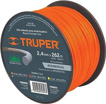Truper HTR3-95 - Cuerda de tríptico (2,4 mm): Amazon.es: Jardín