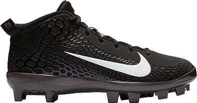Nike Men's Force Trout 5 Pro MCS Molded Baseball Cleat Black/White/Oil Grey  Size 8 M US