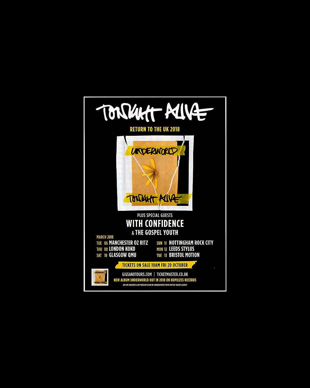 Tonight Alive - Return To The UK 2018 Mini Poster - 25 4x20