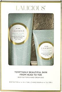 product image for LALICIOUS - Sugar Tiare Flower Body Butter & Hand Cream Duo
