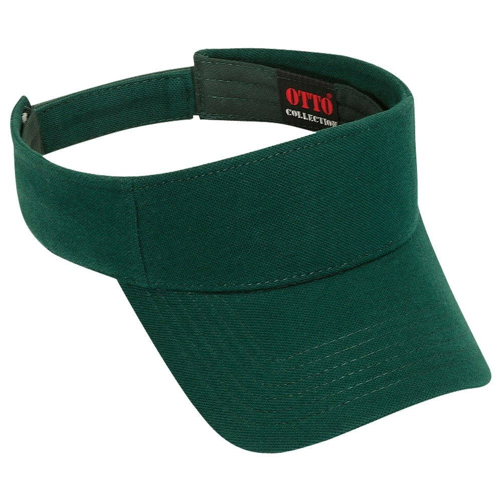 Product of Ottocap Cotton Pique Knit Sun Visor -Dk. Green  Wholesale Price  on Bulk  at Amazon Men s Clothing store  454a32f1953