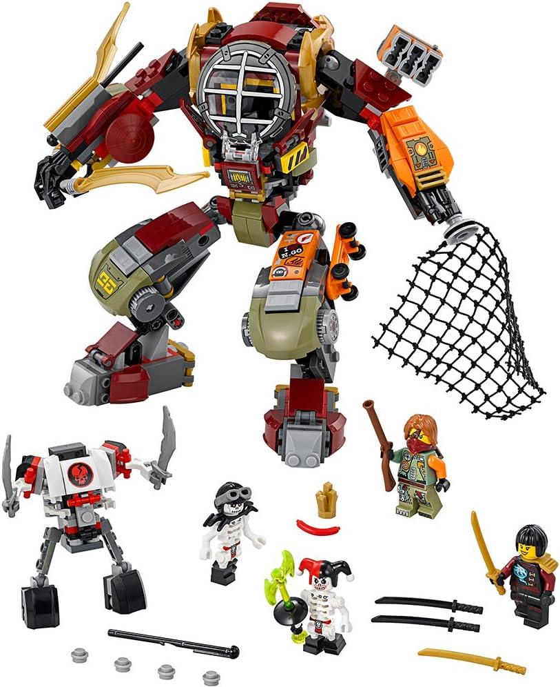 LEGO Ninjago 70592 Salvage M.E.C. Building Kit (439 Piece)