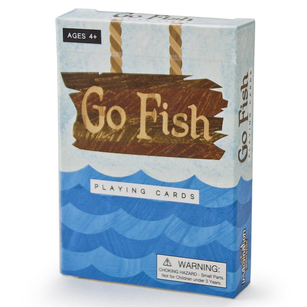 Promoción por tiempo limitado Go Fish Illustrated Card Game by Imagination Generation by Imagination Generation