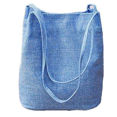 819dd1910f Sac à Main Mode Cabas Fourre Tout Solide Sac Bandoulière pour Femme  Shopping Cours avec Grande