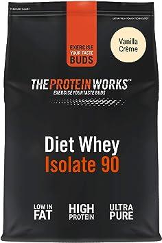 Proteína Whey Diet Isolate 90 | Sabor Vainilla | 1Kg de Aislado de proteína Whey