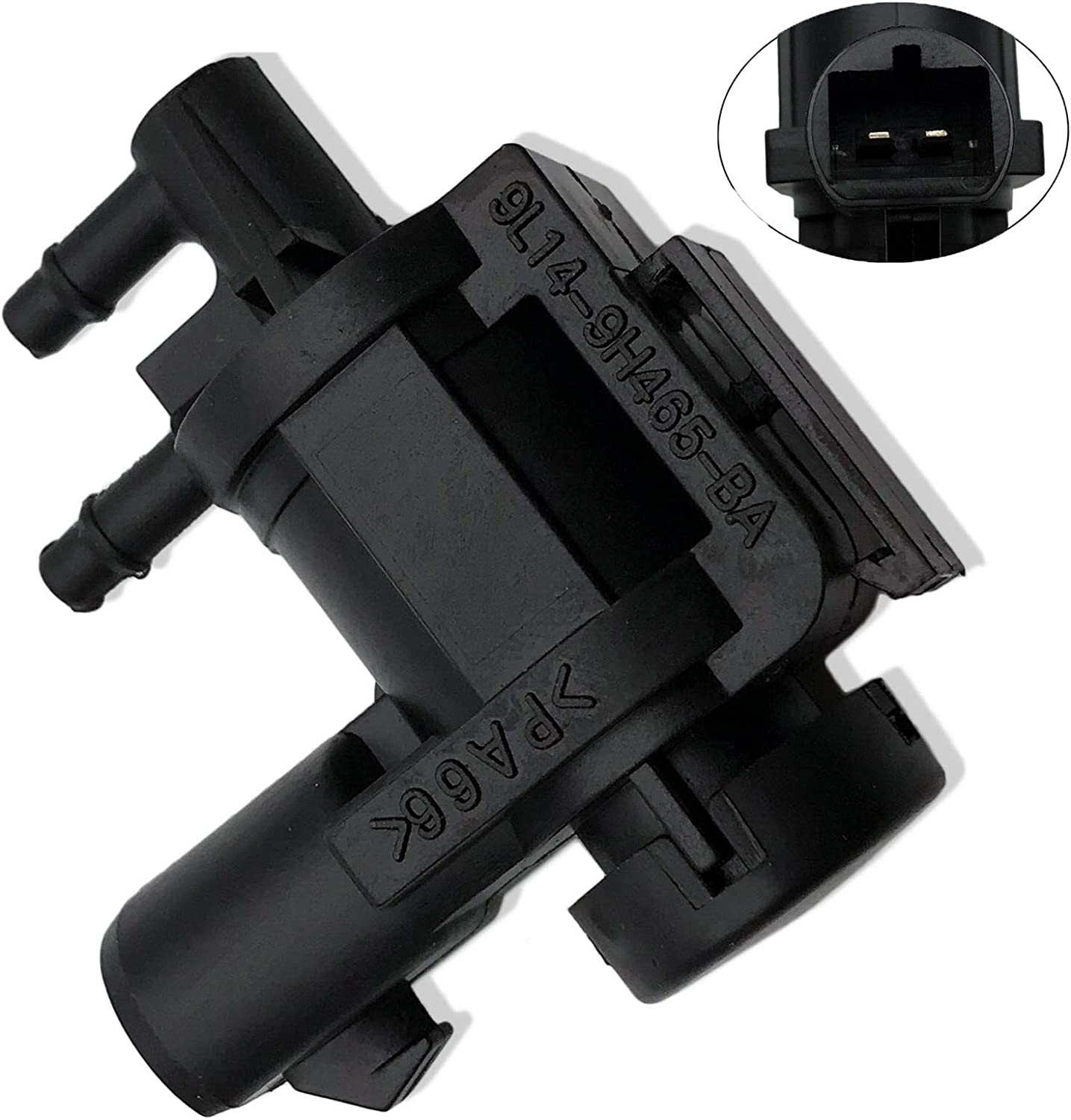 Kunttai Vacuum Solenoid Purge Valve Fit for FORD F-150 Lobo F-250 Expedition Lincoln Navigator Replaces# 9L14-9H465-BA, 6L3Z-9H465-B
