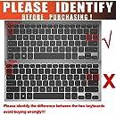 CaseBuy Keyboard Silicone Protector Cover for Dell Inspiron 13-7347 13-7348 13-7352 13-7353 13-7359 15-7547 15-7548 i7347 i7348 i7352 i7353 i7359 i7547 i7548, XPS 13-9343 13-9350 13.3