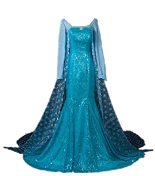 Damen Prinzessin Kostum Karneval Verkleidung Party Cosplay Kleid