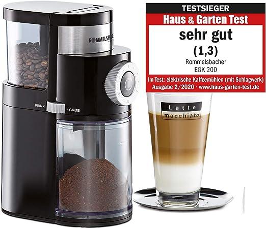Rommelsbacher EKM 200 - Molinillo de café: Amazon.es: Hogar