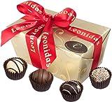 Belgian Chocolate Truffle Gift Box, 16 Luxury Leonidas Assorted Truffles 270g