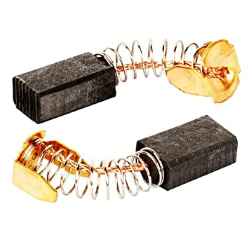 Sourcingmap Replacement 14 x 8 x 6mm Motor Carbon Brushes 5 Pairs