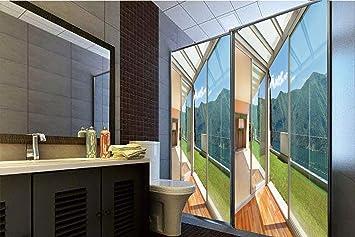 Amazon.com: Horrisophie dodo 3D Privacy Window Film No Glue ...