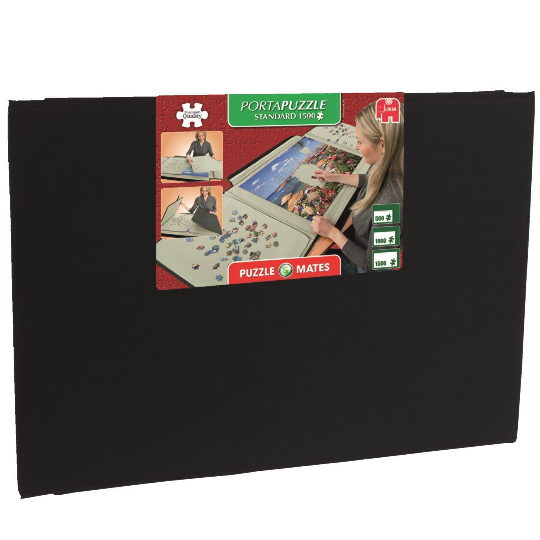 Jumbo 10806 - Puzzle Mates, Portapuzzle Standard, 1500 Teile Spielen / Raten Non Books Puzzles (ab 1000 Teile) Puzzlezubehör