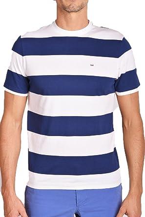 Eden Park Herren T Shirt, Gestreift Blau Blau Weiß Gr. XXL
