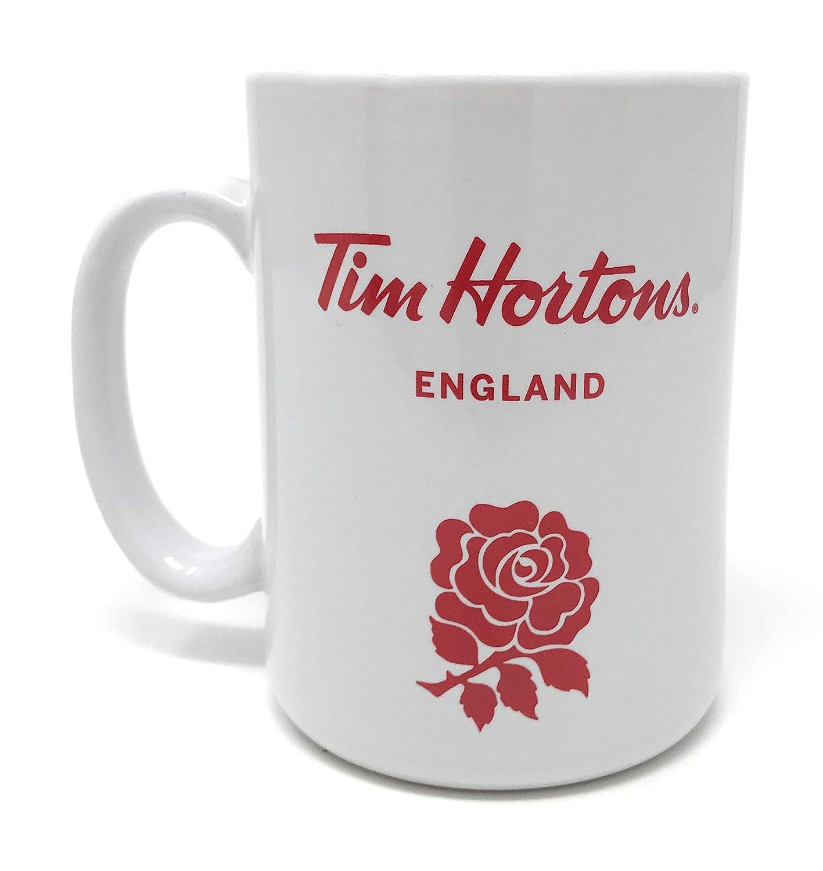 Tim Hortons uk 'england' Mug Coffee LargeAmazon co Official Yybf76g