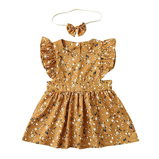 fa1f7e948691e Image Unavailable. Image not available for. Color: GorNorriss Baby Dress  Summer Infant Girls ...