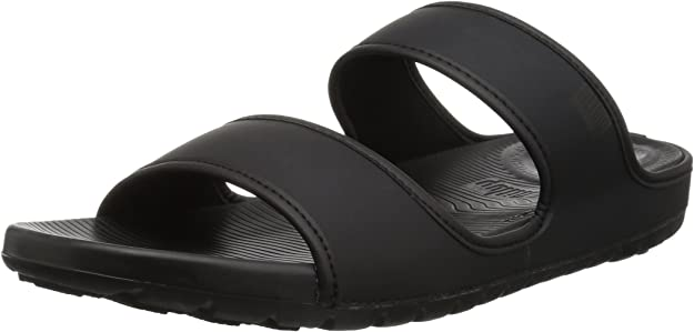 TALLA 47 1/3 EU. FitFlop Lido TM Double Slide Sandals In Neoprene, Chanclas Hombre
