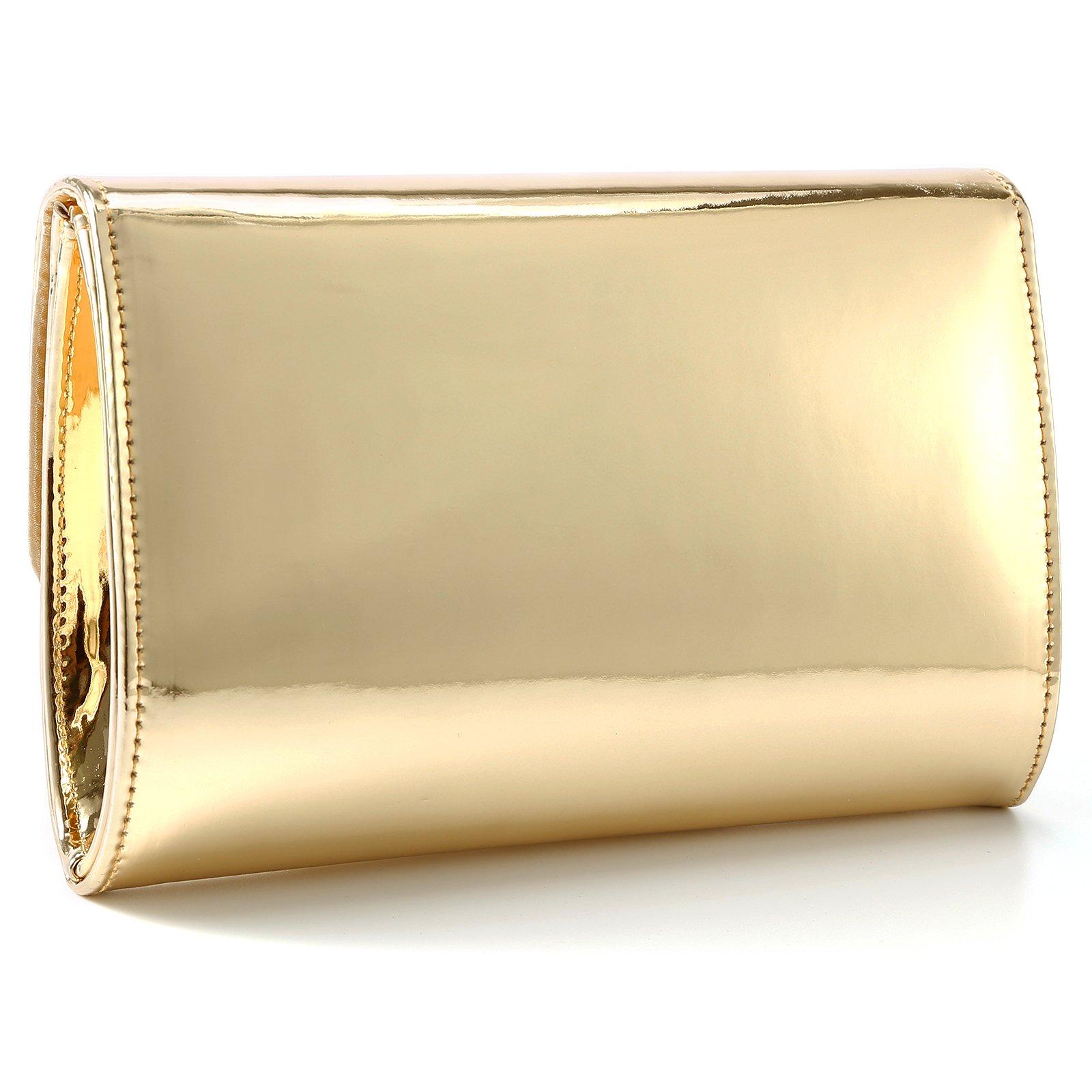 Fraulein38 Designer Mirror Metallic Women Clutch Patent Evening Bag by Fraulein38 (Image #7)
