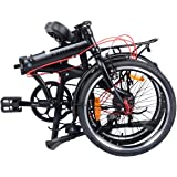 "Camp 20"" Alloy 8 Speed Folding Bike City"