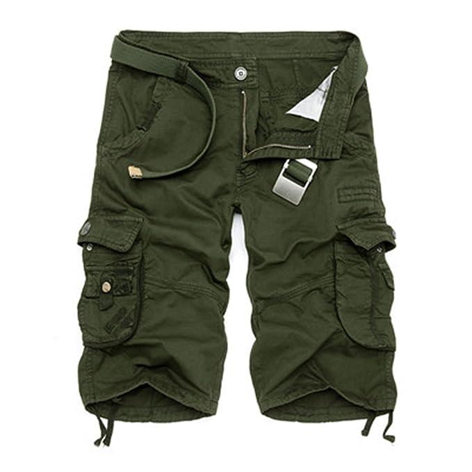 Amazon.com: Pantalones cortos de camuflaje militar para ...