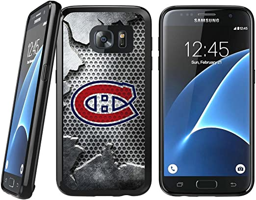 Samsung Galaxy S7 TPU Coque, des Canadiens de Montréal Samsung Galaxy S7 Coque en caoutchouc rigide plaque arrière Coque