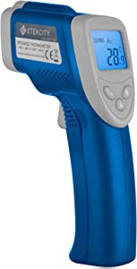 Etekcity Infrared Thermometer 774 (Not for Human) Temperature Gun Non-Contact Digital Laser Thermometer-58℉~ 716℉ (-50℃ ~ 380℃) Blue