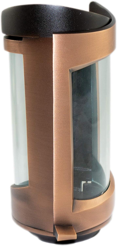 Kunst-Art-K/öhl Grablaterne 1880//20 aus massiver Bronze oder Aluminium montiert auf einem Granitsockel wahlweise auch ohne Granitsockel Bronze, Multicolor