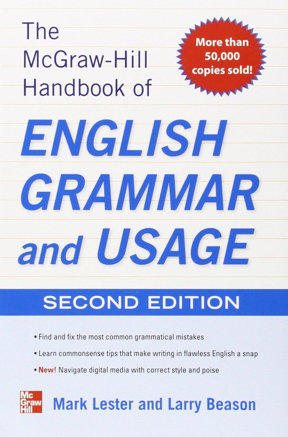 Handbook of English Grammar and Usage
