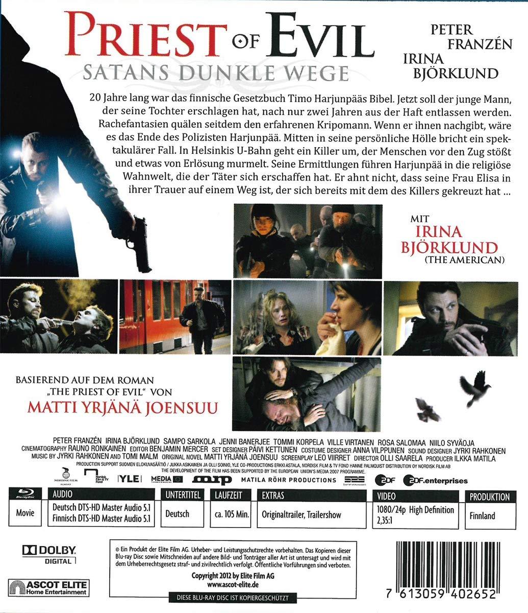Priest of Evil [Blu-ray] [Alemania]: Amazon.es: Irina Björklund, Peter Franzén, Eero Milonoff, Ville Virtanen, Tommi Korpela, Jorma Tommila, Olli Saarela, Irina Björklund, Peter Franzén: Cine y Series TV