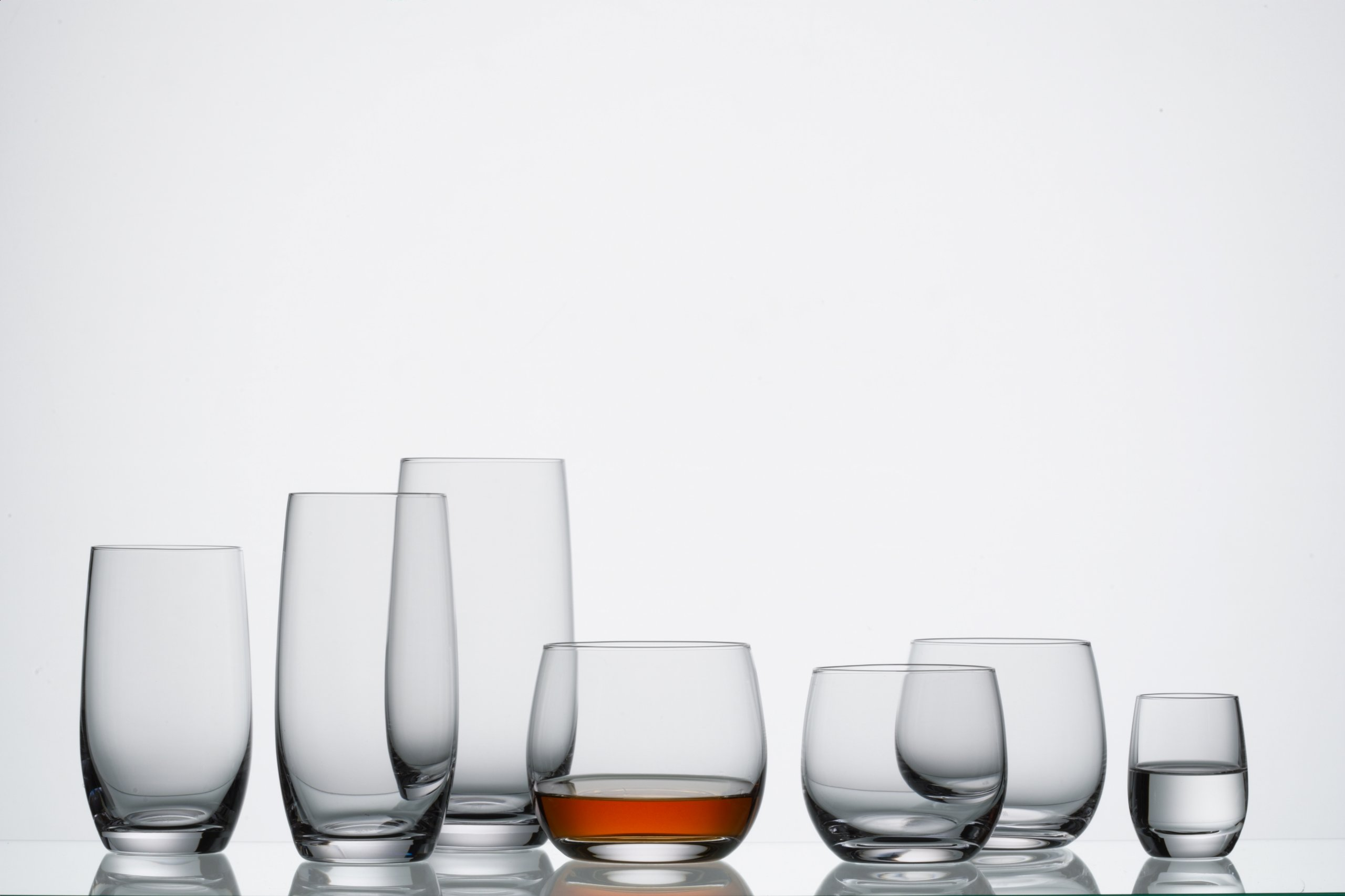 Schott Zwiesel Tritan Crystal Glass Banquet Barware Collection Beer Tumbler/Highball Cocktail Glass, 10.8-Ounce, Set of 6