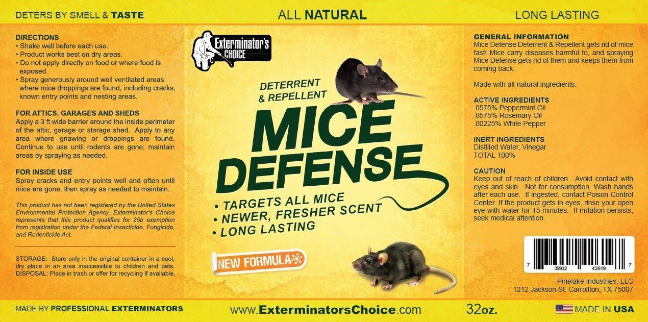 amazon com exterminators choice mice defense repellent deterrent