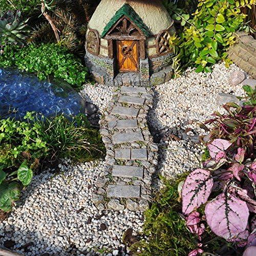 Calzada de piedra del jardín de hadas en miniatura: Amazon.es: Hogar