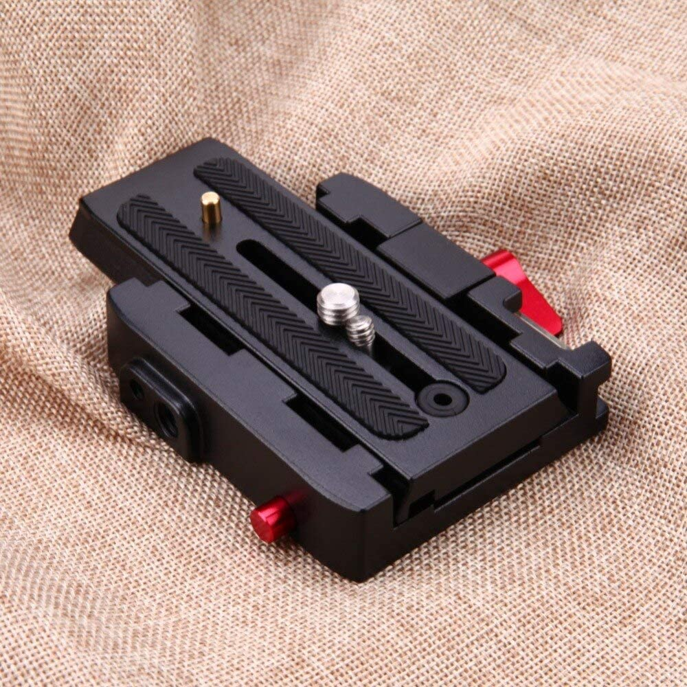Quick Release Plate P200 clamp Camera Tripod Plate Aluminum Alloy mounting Clip Adapter is Suitable for manfutu 577 501 500AH 70