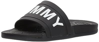 dedf146cfeceb Tommy Hilfiger Womens T-YEVI Yevi Black Size  7.5 UK  Amazon.co.uk ...