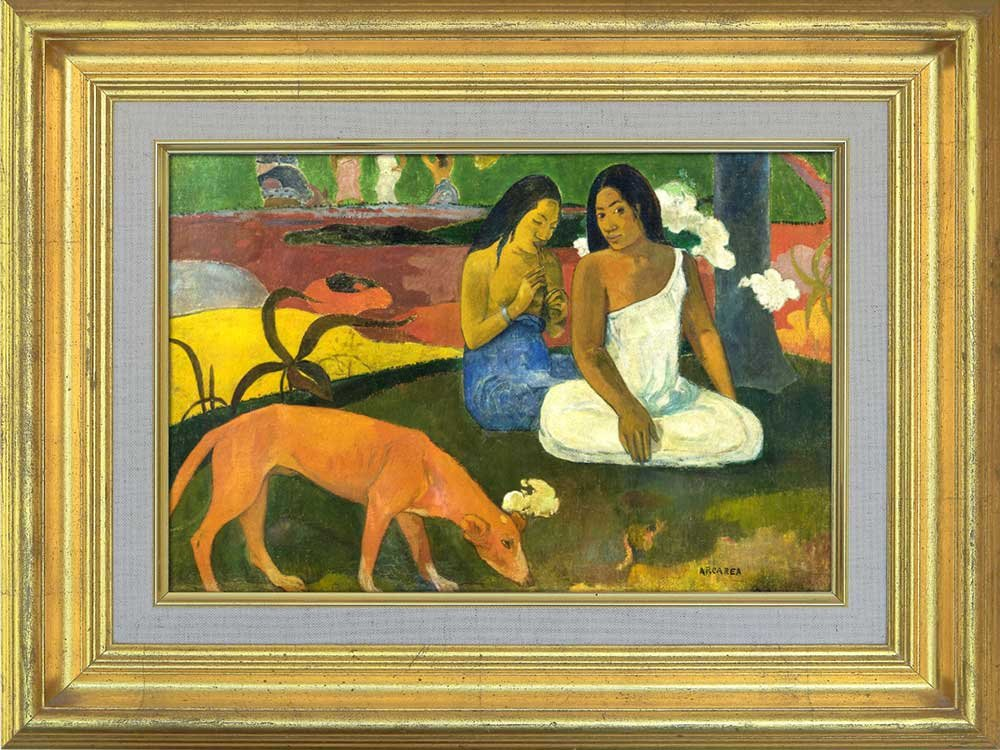 Creative 3D Visual Effect Wall Mural Arearea by Paul Gauguin Peel ...