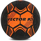 Vector X Men STREETSOCCER_RB_ORANGE_5 Football - Orange-Black, 5
