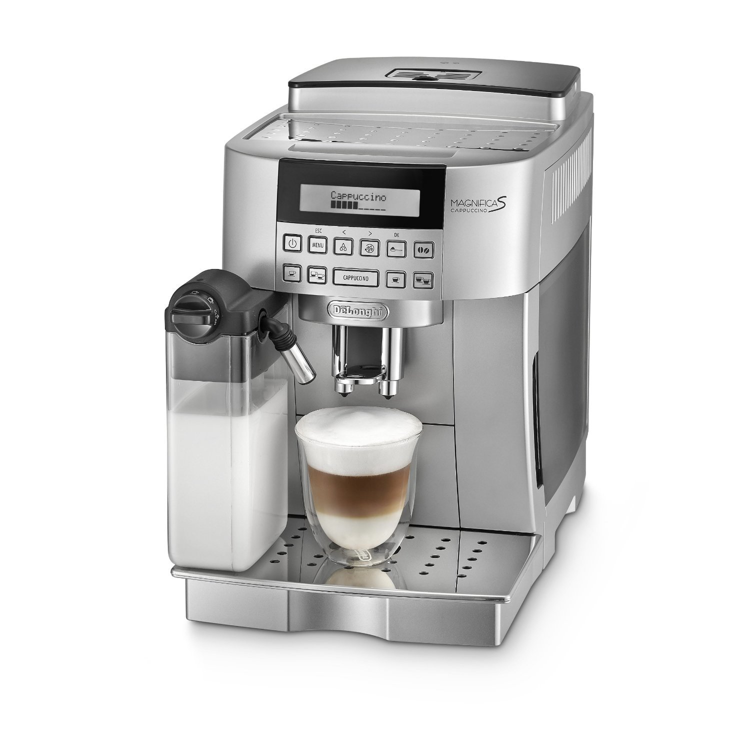 Electronic Test Cases For Coffee Machine delonghi ecam22 360 s fully automatic bean to cup coffee machine 220 w amazon co uk business industry science