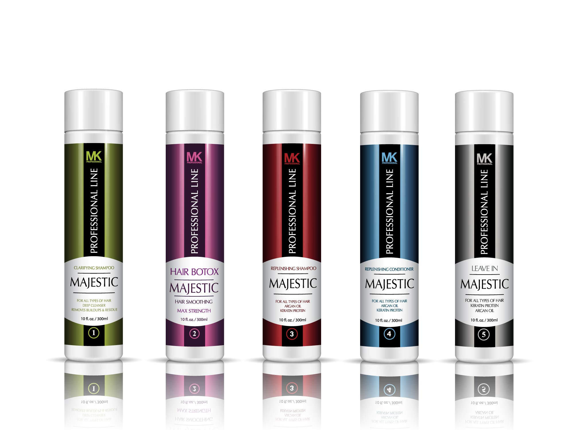 Majestic Hair Botox 300ml (10oz) - Formaldehyde Free - Complete KIT