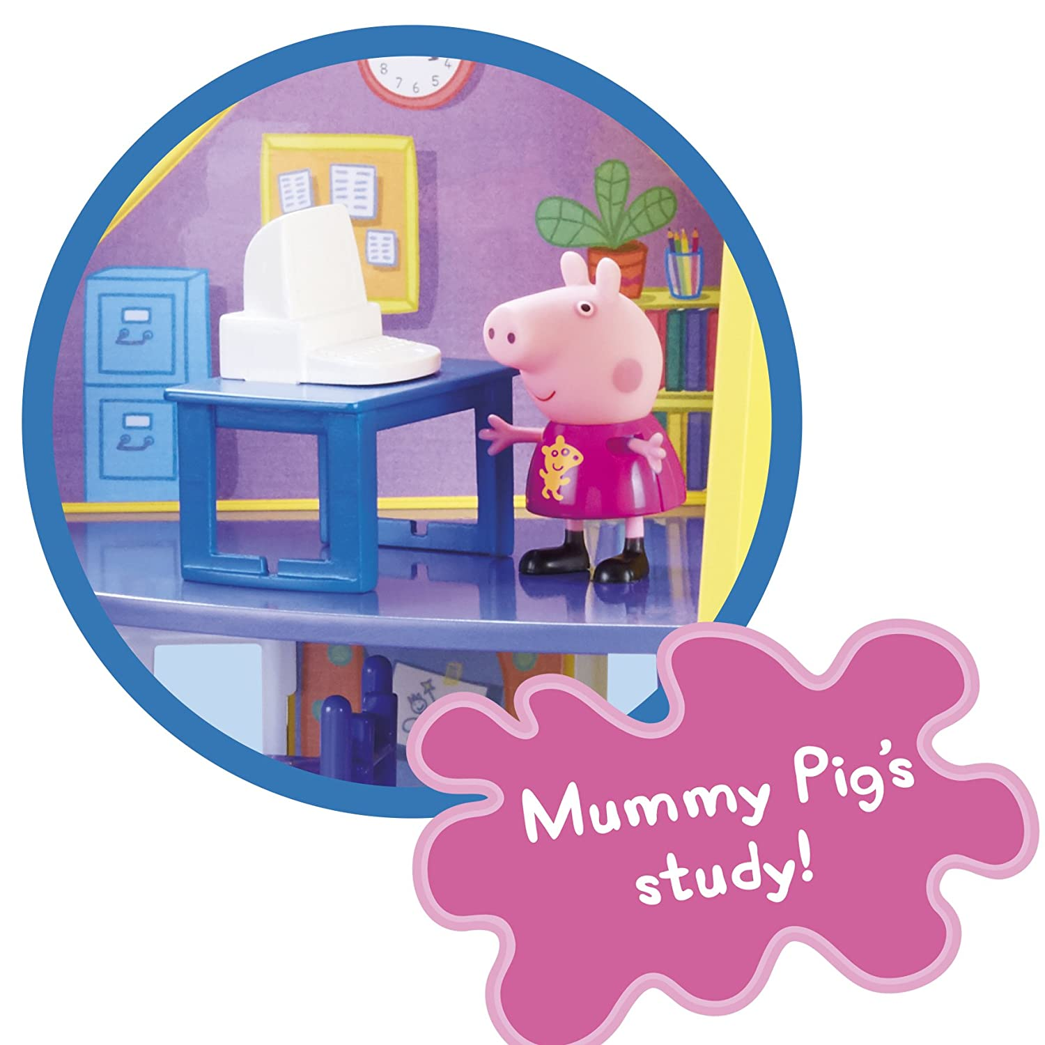 Peppa Wutz 06384 Peppas Family Home Spielset Character Options