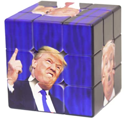 e8524a287b647 TOYOYO 3×3×3 Rubix Cube,Donald Trump Gifts, Trump Gag Gifts,Unique Gifts  Puzzles, Stress Relief Toys
