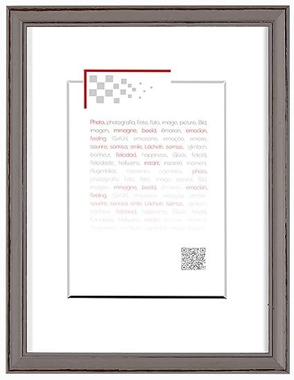 Emotion marco 13 x 18 Hendaya, madera, Topo, 1,7 x 15 x 20 cm ...