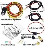 amazon com jegs 10570 dual fan wiring harness relay kit automotive rh amazon com