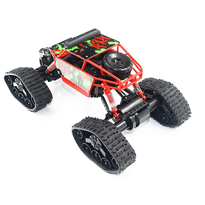Kinderfahrzeuge 1 To 18 Electric Four-wheel Drive Snowmobile Wheel Model Remote Control Car g