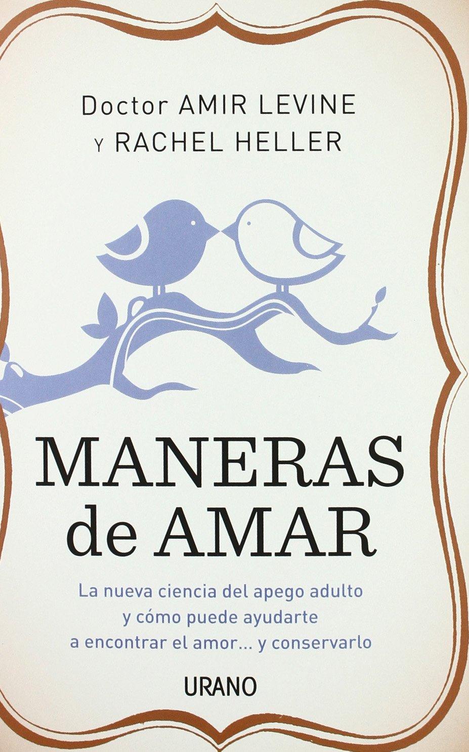Maneras amar Spanish Rachel Heller product image