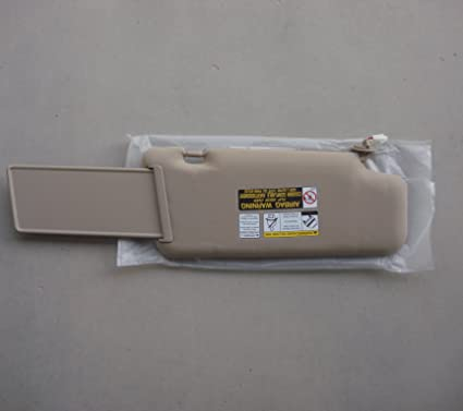 Amazon.com  NEW 2006-2007 Nissan Murano Beige Driver or Left SUN Visor  Assembly  Automotive fce4a8b3a34